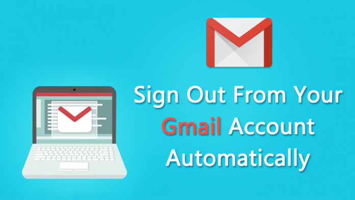 Sign-out Gmail Account