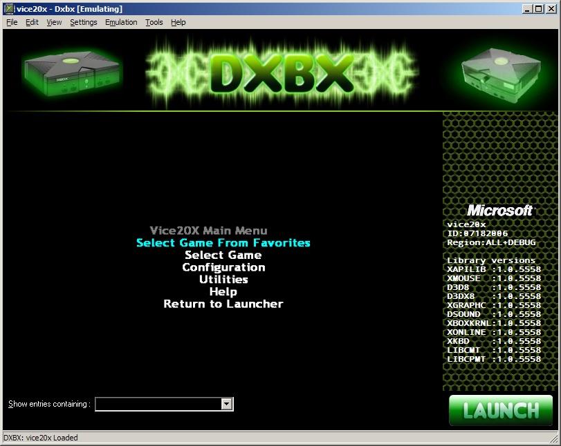 Dxbx Xbox Emulator