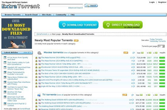 www extratorrents cc hollywood movies
