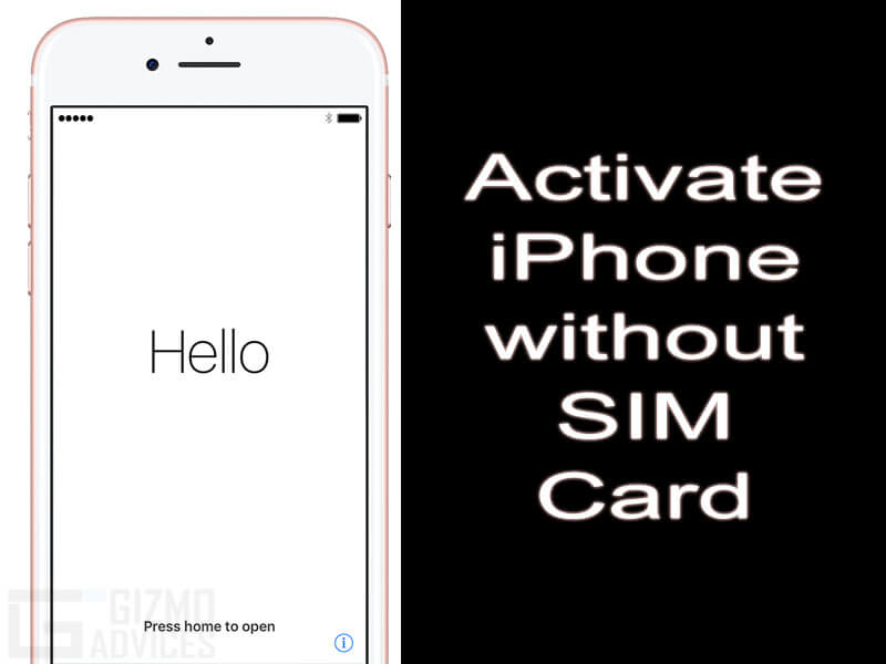 Can I Activate Iphone  Without Sim Card