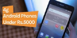 4G mobile under 5000