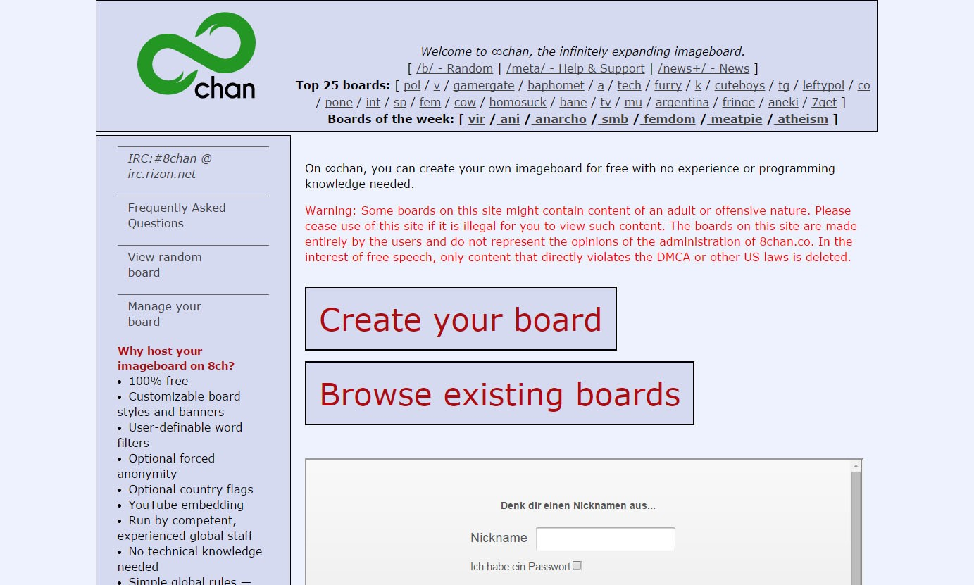 4Chan Torrent sites like 4chan you must use for posting images (top 13)