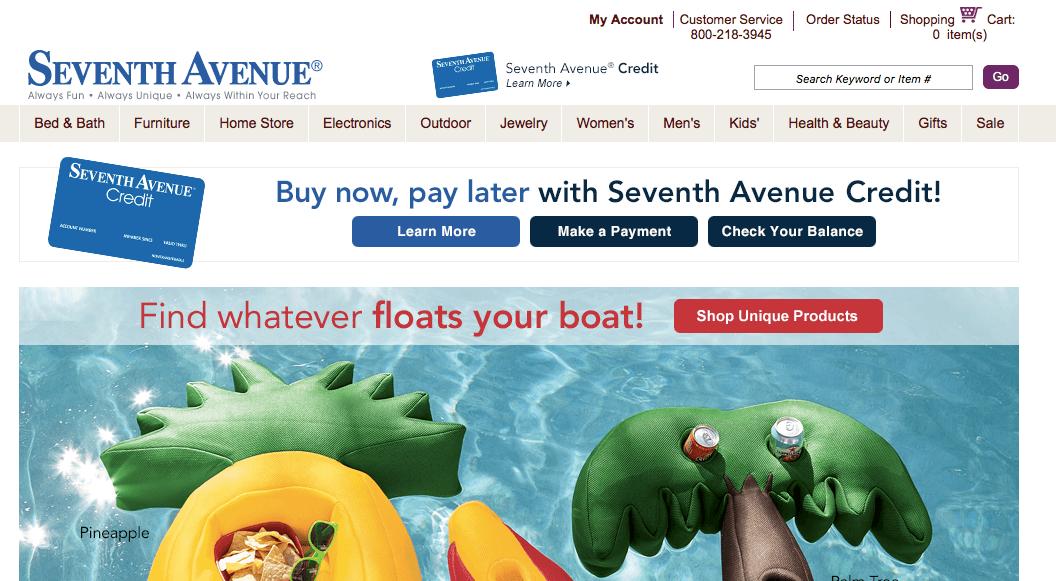 Seventh Avenue : Sites like Fingerhut