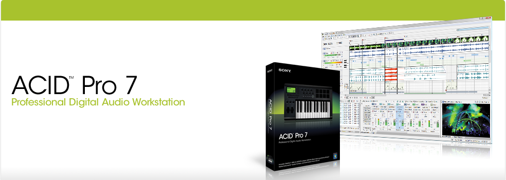 ACID Pro 7 Digital Audio Workstation