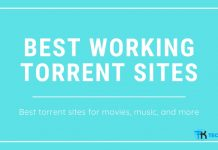 Best Working Torrent sites