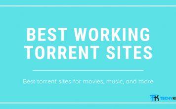 Best Working Torrent sites