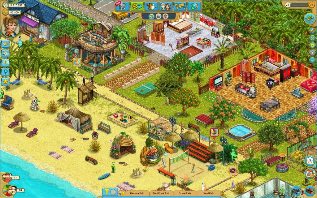 my sunny resort: Games Like The Sims