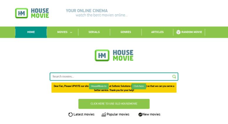 housemovie : Sites Like FMovies