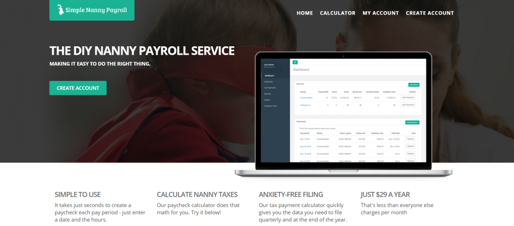 Simple Nanny Payroll