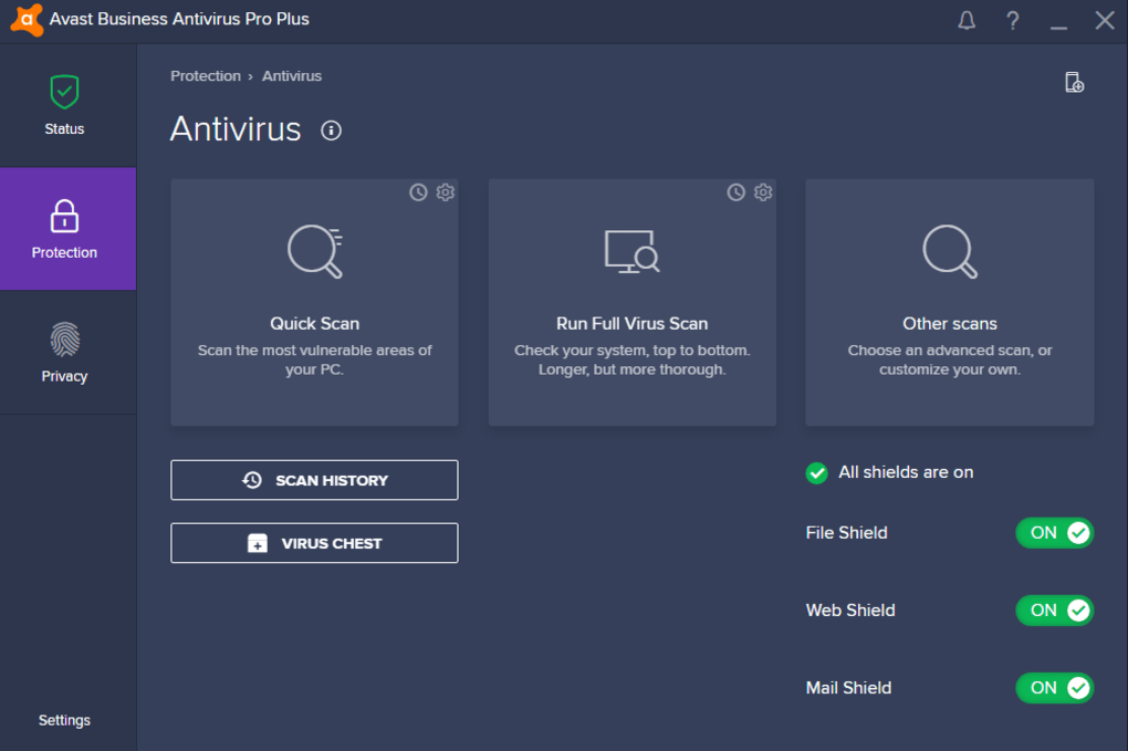 Avast Business Antivirus Pro