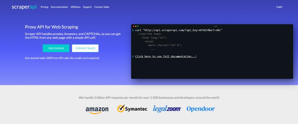 Scrapper API